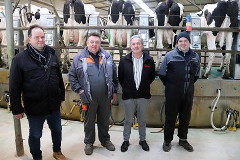 Gruppo Antonini, DueA, bovini da latte, stalla